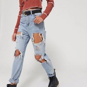 Urban Outfitters Ripped Mom Jeans